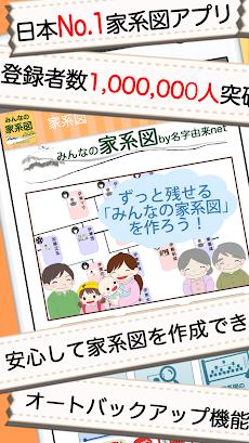 みんなの家系図 〜日本No.1 安心のルーツや血筋の系図 登録数100万人突破〜のおすすめ画像1