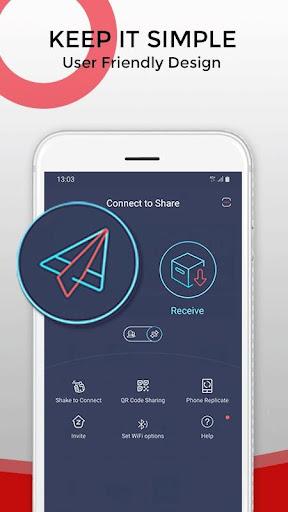 Zapya - File Transfer, Share Apps & Music Playlist Screenshots 1