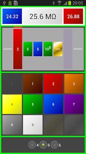 Resistor Color Code Ohm Calcul