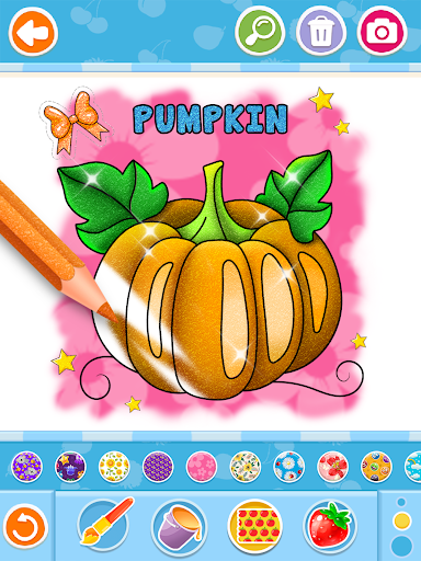 Fruits and Vegetables Coloring Game for Kids  screenshots 16