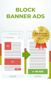 Free Adblocker Browser – Adblock & Private Browser Mod Apk v80.0.2016123394 (Premium) 1