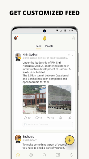 Koo: Connect with People! apktram screenshots 3