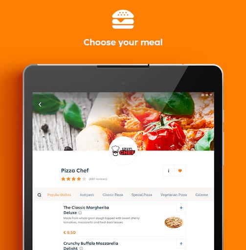 Lieferando.de - Order Food 6.25.0 Screenshots 9