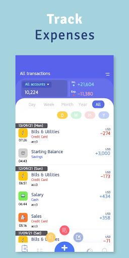Money Diary - Expense Tracker apktram screenshots 1