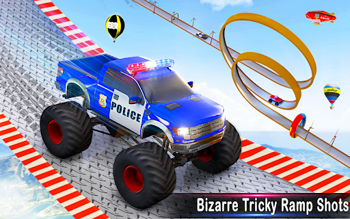 Police Car Racing Stunts 3D : Mega Ramp Car Games 3.8 screenshots 11