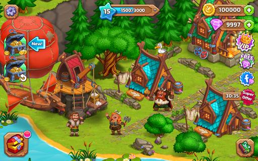 North Dragon Island - build Vikings Farm  screenshots 7