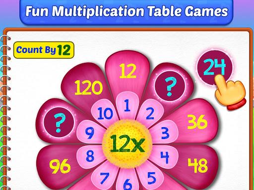 Multiplication Kids - Math Multiplication Tables apkpoly screenshots 12