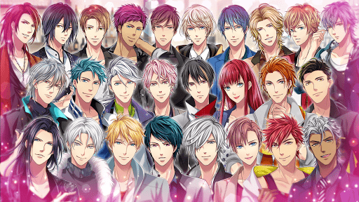 Love Tangle #Shall we date Otome Anime Dating Game 2.0.0 screenshots 24