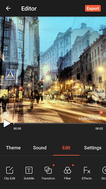 VideoShow Video Editor, Video Maker, Photo Editor screenshot 6