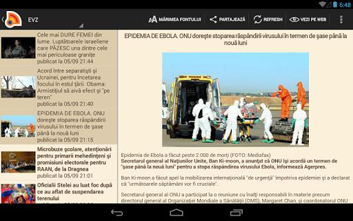Stiri din Romania 4.9.0 Screenshots 10