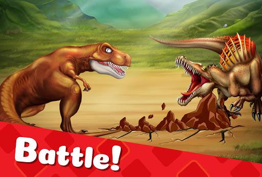 DINO WORLD - Jurassic dinosaur game Apkfinish screenshots 2
