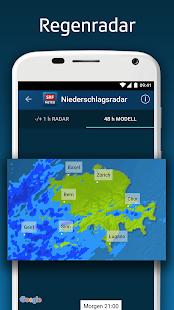 SRF Meteo - Wetter Prognose Schweiz 2.12 Screenshots 5