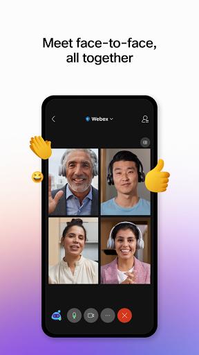 Cisco Webex Meetings  screenshots 1