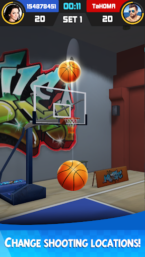 Basketball Tournament - Free Throw Game 1.2.2 Screenshots 4
