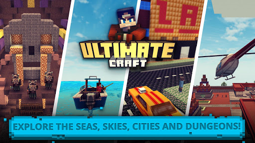 Ultimate Craft: Exploration of Blocky World 1.29-minApi23 Screenshots 2