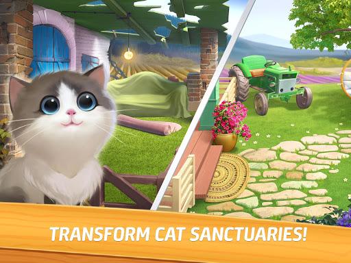 Meow Match: Cats Matching 3 Puzzle & Ball Blast Apkfinish screenshots 12