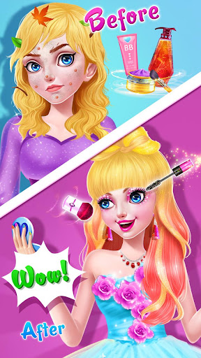 ud83cudf39ud83eudd34Magic Fairy Princess Dressup - Love Story Game 2.6.5038 screenshots 3