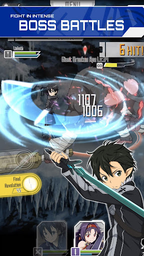 SWORD ART ONLINE;Memory Defrag modavailable screenshots 1