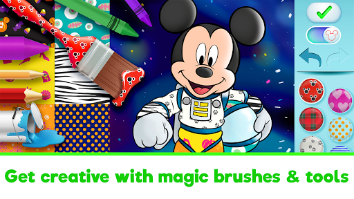 Disney Coloring World - Color & Play Kids Games 7.1.0 screenshots 3
