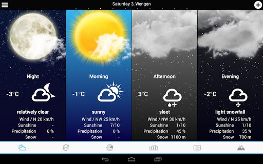 Swiss Weather 1.7.0.19 Screenshots 9