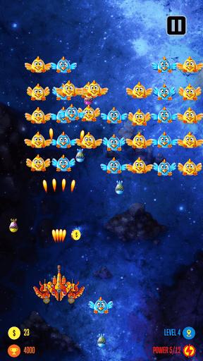 Chicken Attack Galaxy 23 screenshots 2