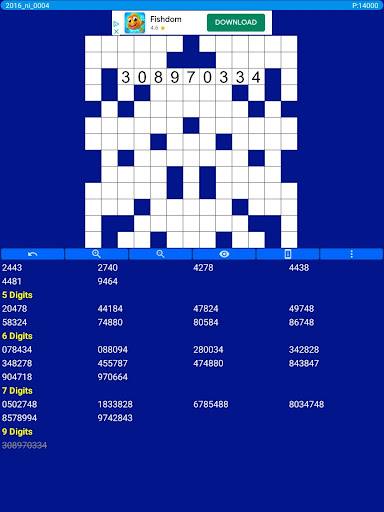 Number Fill in puzzles - Numerix, numeric puzzles screenshots 12