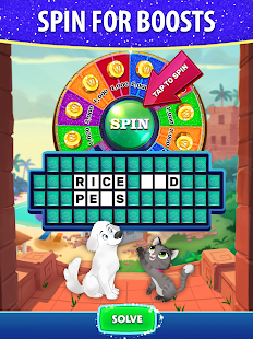 Bubble Pop: Wheel of Fortune! Puzzle Word Shooter Apkfinish screenshots 10