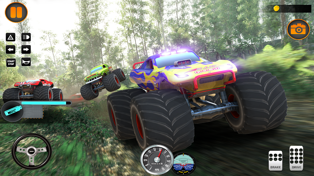 Monster Truck Off Road Racing 2020: Offroad Games  poster 2