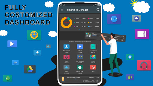 File Manager - Local and Cloud File Explorer 5.0.3 Screenshots 1