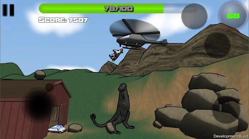 Attack of the Giant Mutant Lizard  screenshots 3