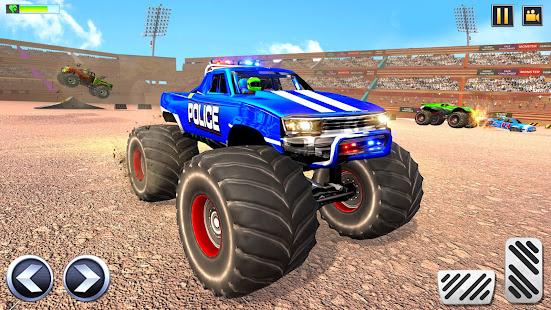 Police Demolition Derby Monster Truck Crash Games 3.3 APK screenshots 1
