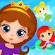 Shift Princess:エキサイティングなフェアリープリンセスレースゲーム。ミニゲーム パズル