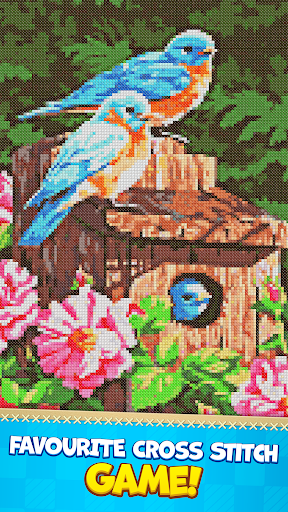CROSS-STITCH: COLORING BOOK apkpoly screenshots 4
