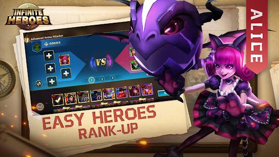 Infinite Heroesuff1aldle RPG game screenshots 4