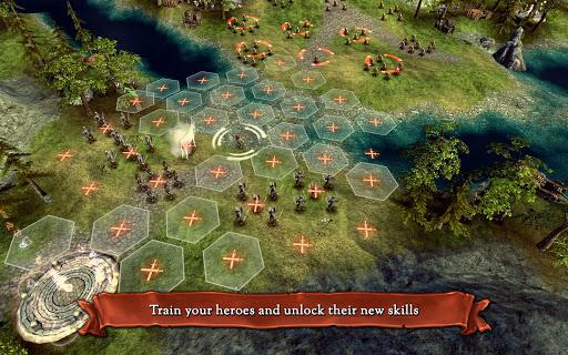 Hex Commander: Fantasy Heroes 4.7 screenshots 9