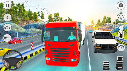 In Truck Driving 2: Euro new Truck 2020 apkpoly screenshots 4