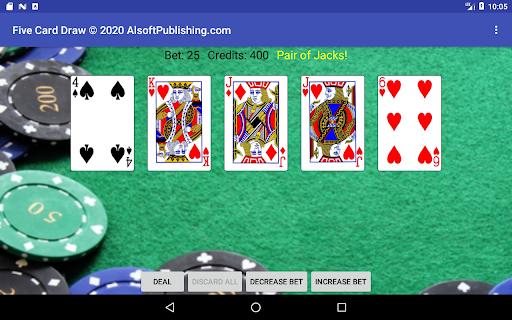 Five Card Draw Poker  screenshots 21