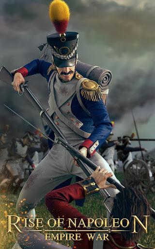 Télécharger Gratuit Rise of Napoleon: Empire War APK MOD (Astuce) screenshots 1