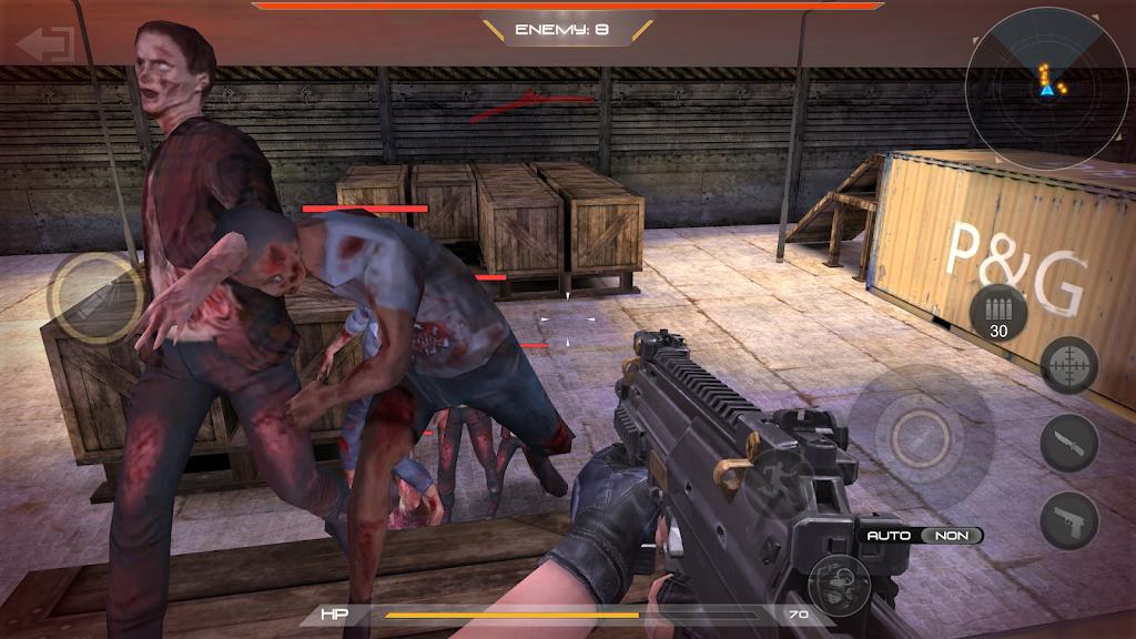 zombie comando shooting:offline fps military-games  poster 10