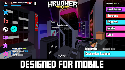Krunker Client Apk Mod 1 0 9 Unlimited Money Crack Games Download Latest For Android Androidhappymod