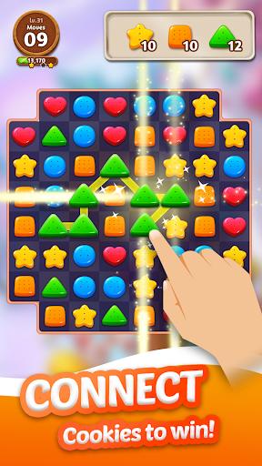 cookie crunch: link match puzzle screenshot 2
