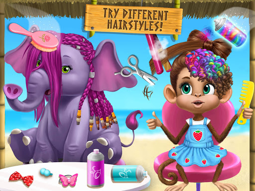 Jungle Animal Hair Salon 2 screenshot 23