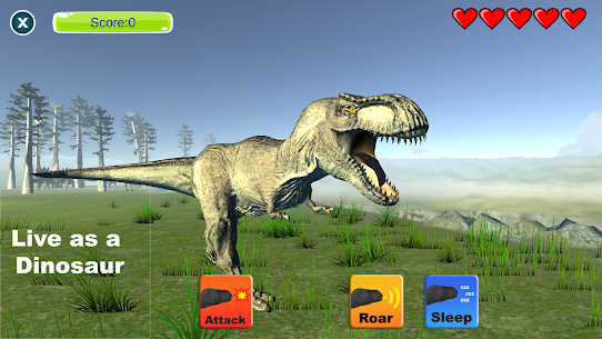 Dinosaur Sim  Apps For Pc | Download And Install (Windows 7, 8, 10, Mac) 1