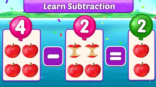 Free Math Kids – Add, Subtract, Count, and Learn 2