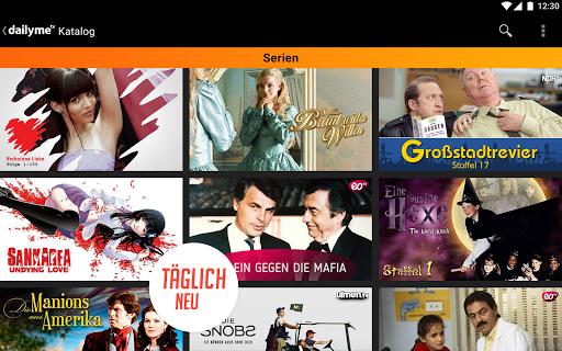 dailyme TV, Serien, Filme & Fernsehen TV Mediathek  screenshots 13