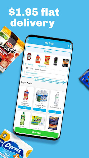 goPuff: Drink & Food Delivery 3.21.2 screenshots 4