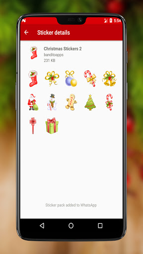 Christmas Stickers 2020 for Whatsapp 2.0 Screenshots 5