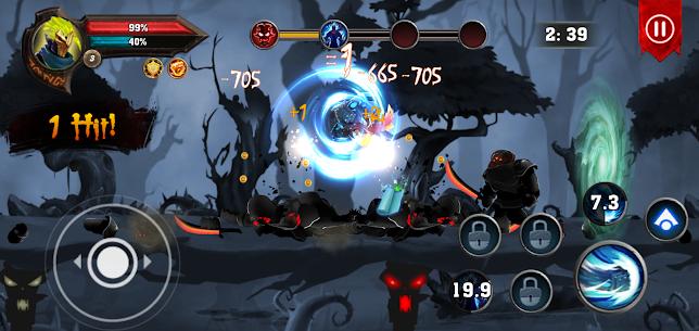 Dota King of Shadow : Knight Fight MOD (Unlimited Money/Gems) 2