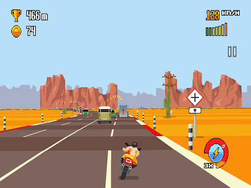 Retro Highway 1.0.35 screenshots 6