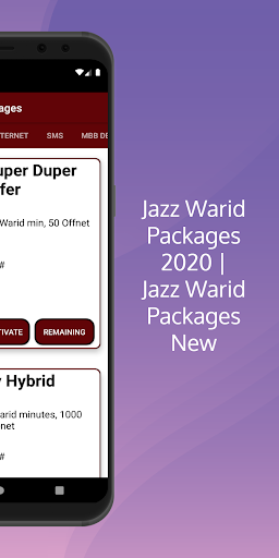 Jazz Warid Packages 2021 | Jazz Warid Packages New android2mod screenshots 8